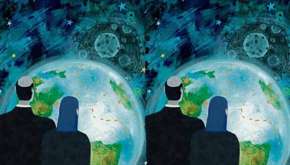"""""""Probablemente todos recordemos el 2020 como el año del COVID-19, pero sería bueno no perder de vista los sucesos aquí comentados en los próximos cuando, con toda seguridad, sus ecos se seguirán escuchando"""". (Ilustración: Giovanni Tazza)."""