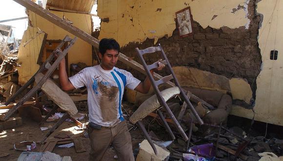 Terremoto en Ica: A 10 años del sismo que dejó 596 muertos.