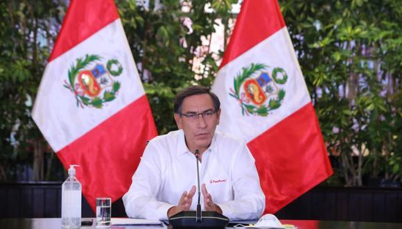 Presidente Martín Vizcarra ofrecerá pronunciamiento en el día 32 del estado de emergencia para frenar avance de coronavirus. (Foto: Presidencia)
