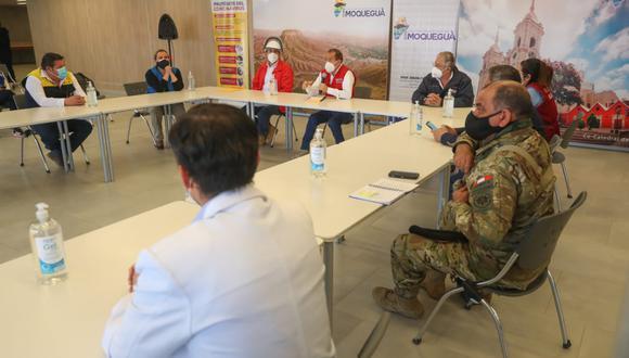 """Coronavirus en Perú: evaluarán realizar la operación """"Tayta"""" en Moquegua (Foto: Ministerio de Defensa)."""