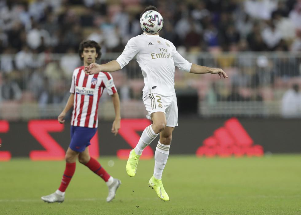 Real Madrid enfrentó al Atlético de Madrid por la Supercopa de España 2020   Foto: Agencias