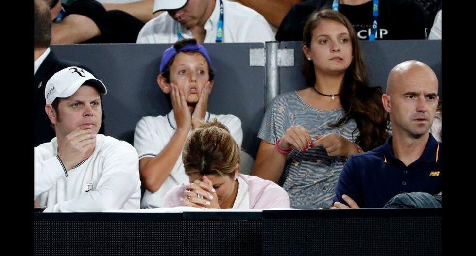 Así vivieron la final las parejas de Federer y Nadal [FOTOS] - 7