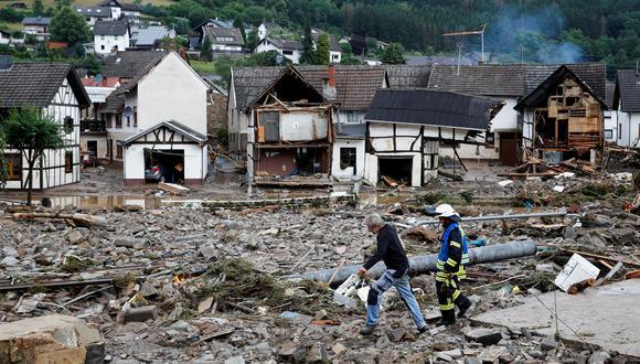 Schuld, ciudad alemana afectada por las terribles lluvias. REUTERS