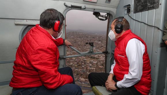El primer ministro, Walter Martos, señaló que el Gabinete Ministerial está trabajando para combatir el coronavirus en el Perú. (Foto: PCM)
