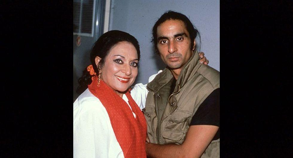 Lola y Antonio Flores.