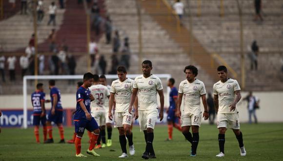 Universitario cayó goleado 4-0 ante César Vallejo en el Monumental y se alejó del título del Apertura. (Foto: GEC).