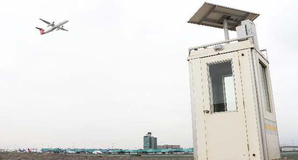 Aeropuerto Jorge Chávez instala paneles solares en casetas