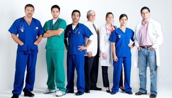 """""""Clave uno, médicos en alerta"""" es la primera serie médica totalmente ambientada y realizada en Perú. (Foto: Frecuencia Latina / Difusión)"""