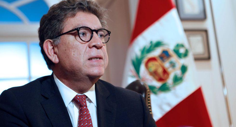 """Según Gustavo Meza-Cuadra, """"no hay contradicción con el canciller"""" mexicano. (Foto: EFE)"""