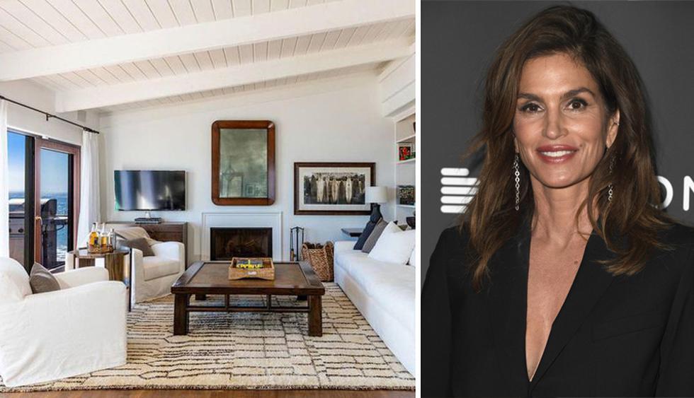 Cindy Crawford y Rande Gerber compraron esta casa de playa en Malibú a fines de la década del noventa. (Foto: The MLS)