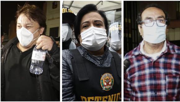 Cisneros, Morales, Vásquez y varios exfuncionarios son investigados por las contrataciones del cantante con el Ministerio de Cultura. (Foto: GEC)