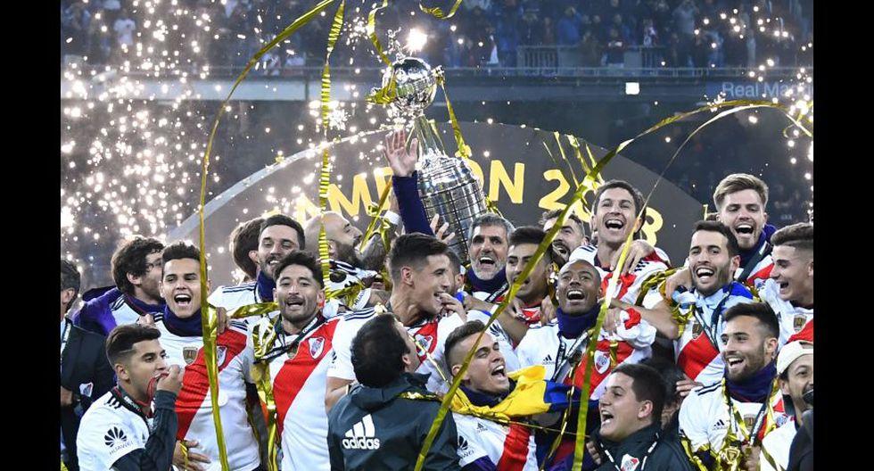 2018, River Plate. (Foto: AP)