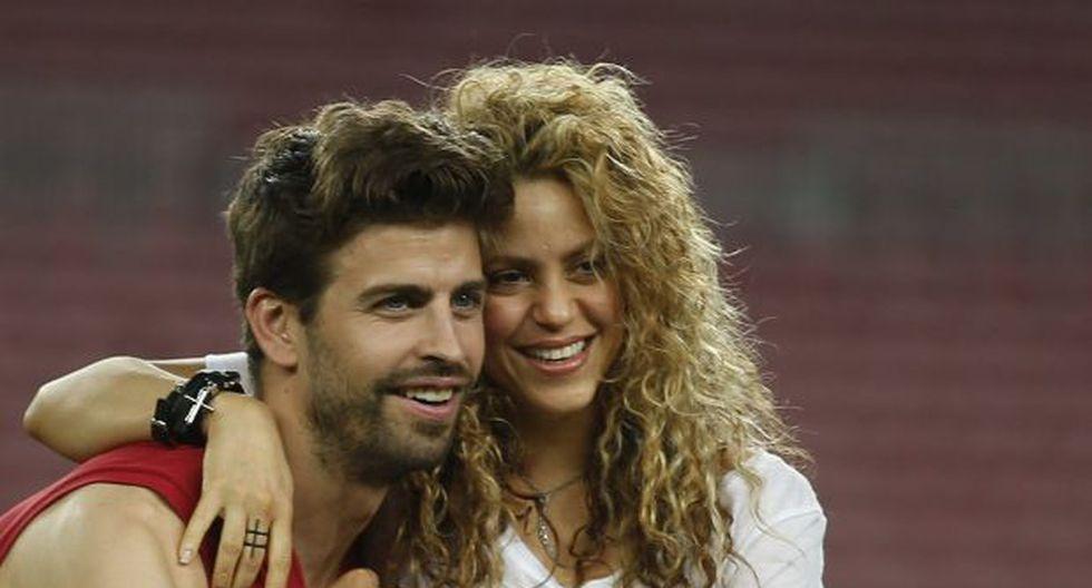 Shakira y Gerard Piqué. (Foto: Agencia)