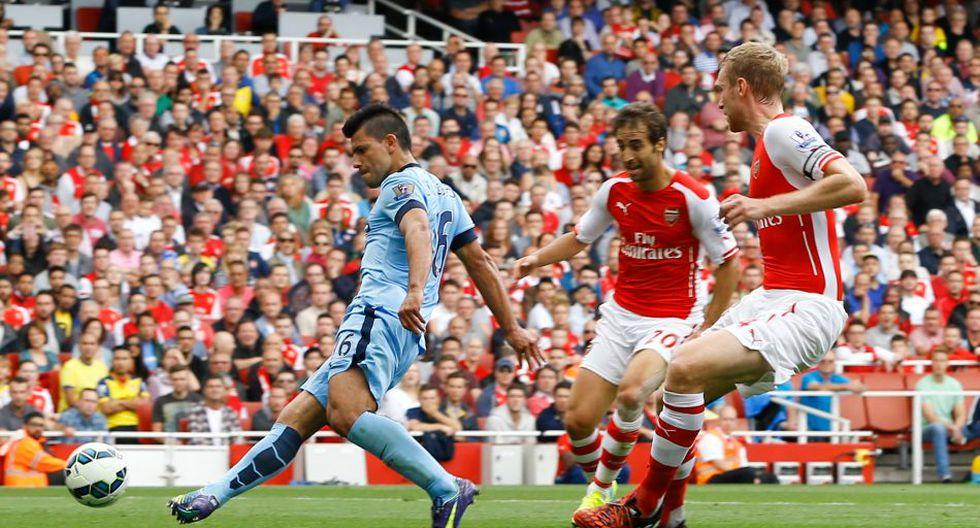 Las imágenes del partidazo entre Arsenal y Manchester City - 6