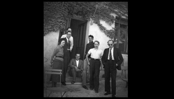Fundadores. Los miembros del congreso Bourbaki  en 1938.