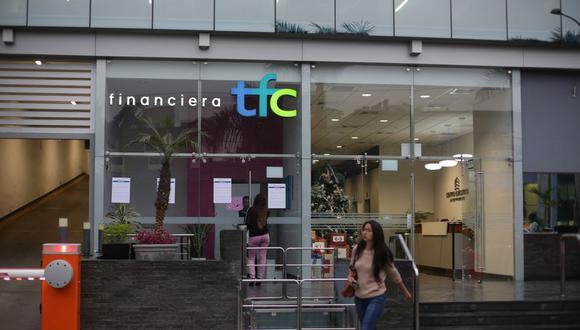 Financiera TFC fue intervenida por la SBS en diciembre de 2019. (Foto: Marco Ramón / GEC)