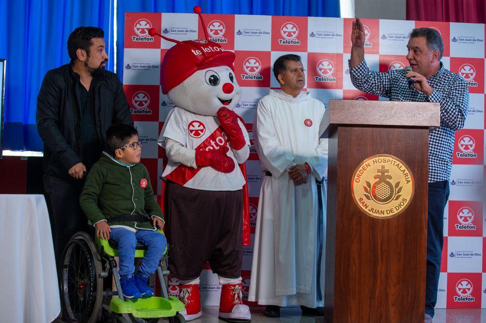 Yeyson Romero Canicani, de 7 años, es el niño embajador de la Teletón de este año. (Foto: Fernando Sangama)