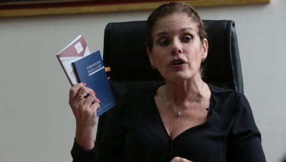 La saliente primera ministra respondió un tuit de la congresista Yeni Vilcatoma. (Foto: Alessandro Currarino/ Archivo El Comercio)