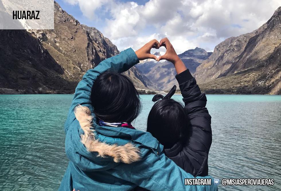 Fátima Sotomayor y Daniela Cabrera son amigas y compañeras de aventura. Desde hace dos años enseñan cómo viajar por el Perú y el mundo sin un presupuesto exhuberante. (Foto: Facebook Misias pero viajeras)