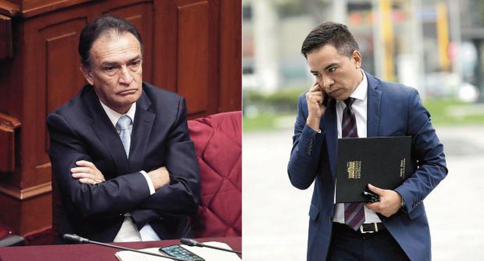 Además de la Comisión de Ética, la Fiscalía de la Nación indaga de forma preliminar a los congresistas Becerril y Vieira. (Fotos: GEC)