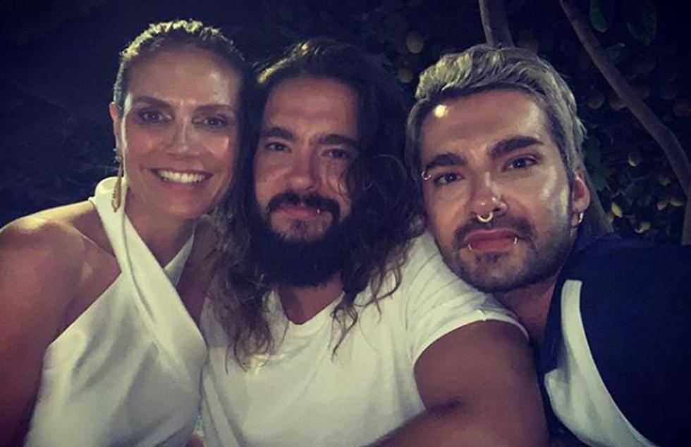La modelo Heidi Klum y el compositor y guitarrista Tom Kaulitz se casaron y compartieron fotografías. (Foto: Instagram)