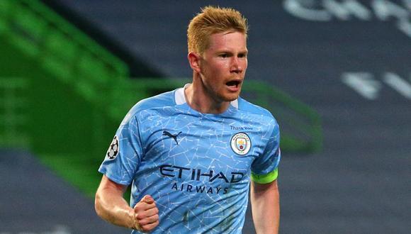Con gol de De Bruyne, Manchester City le gana al Borussia Dortmund.