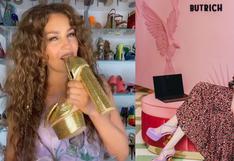 Jessica Butrich, la diseñadora peruana que enamoró a Thalía con sus originales zapatos