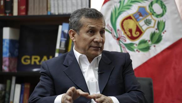 """El expresidente Ollanta Humala consideró que """"no es democrático"""" cuestionar un proceso electoral que ha sido validado internacionalmente. (Foto: Archivo de EFE/ Paolo Aguilar)"""