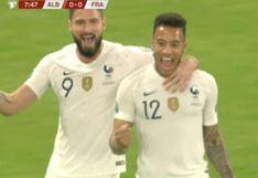 Francia vs. Albania: Tolisso colocó el 1-0 de los galos por eliminatorias a la Euro 2020   VIDEO