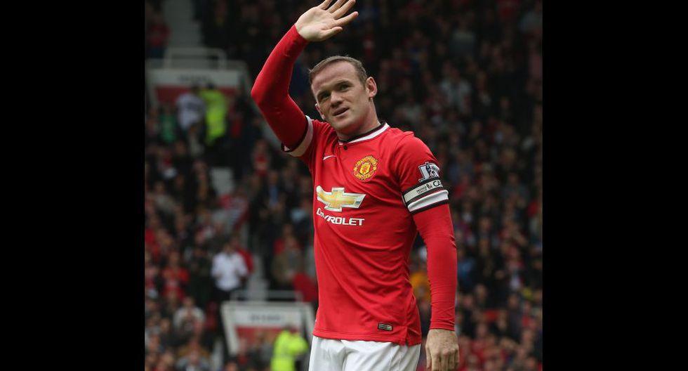 Wayne Rooney cumple una década en el Manchester United - 9