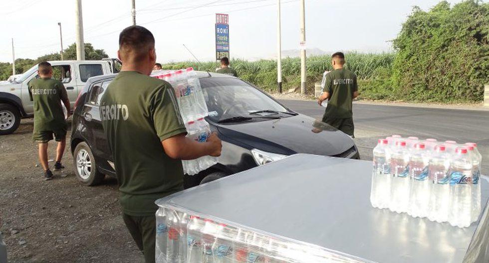 Industrias San Miguel (ISM), empresa de la familia Añaños Alcázar, está donando más de 100.000 cajas de agua Cielo y Loa, además de otras bebidas, a los miembros de la Policía Nacional del Perú, Ejército del Perú, Intendencia Nacional de Bomberos, Banco de Alimentos y personal de salud del MINSA y Essalud.