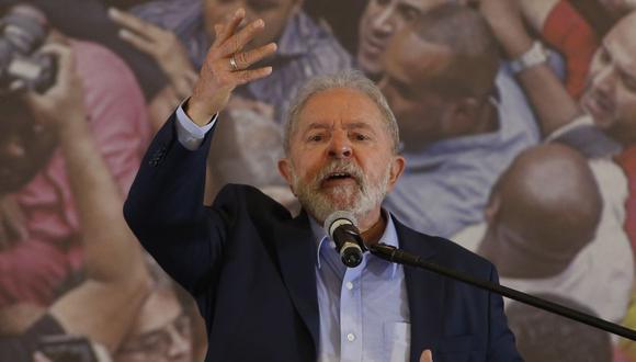 El ex presidente de Brasil Luiz Inácio Lula da Silva. (Miguel SCHINCARIOL / AFP).