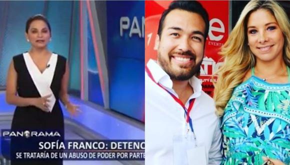 Rosana Cueva sobre Álvaro Paz de la Barra y Sofía Franco. (Foto: captura de video/Instagram)