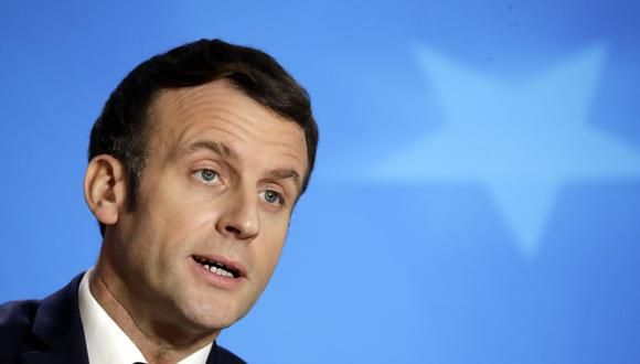 Miembros del gobierno francés, liderado por su presidente Emmanuel Macron, participaron hoy de una reunión técnica previa a la junta que se llevará a cabo mañana entre los altos líderes de la Unión Europea. EFE/EPA/OLIVIER HOSLET / POOL