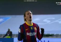 Barcelona vs. Real Sociedad: Antoine Griezmann falló su penal y le dio suspenso a la clasificación azulgrana a la final   VIDEO