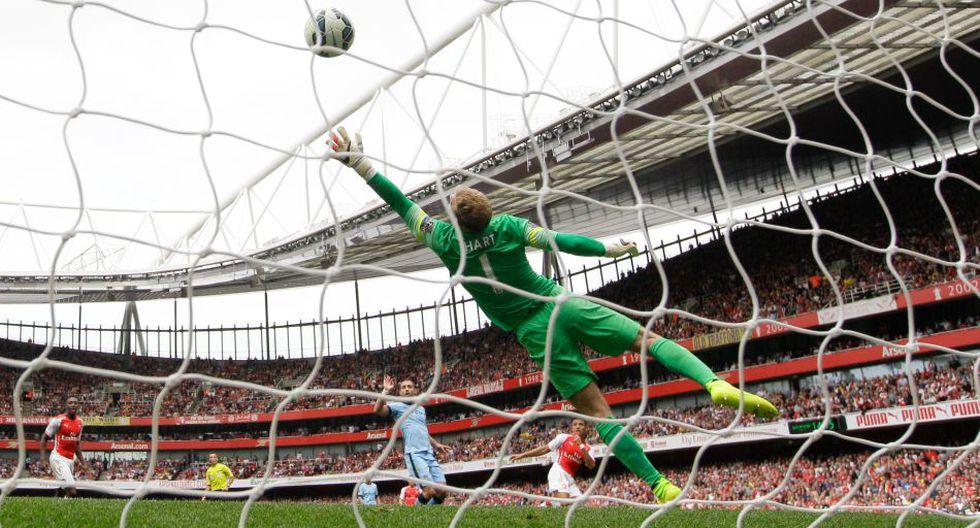 Las imágenes del partidazo entre Arsenal y Manchester City - 15
