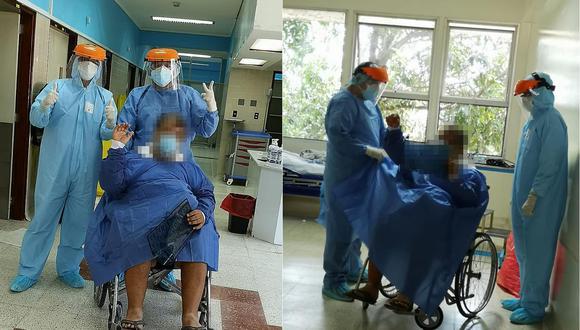 Paciente con coronavirus en la región Ucayali venció la enfermedad y fue dado de alta. (Foto: Essalud)