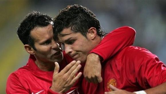 Cristiano y el fuerte regaño de Ryan Giggs en Manchester United