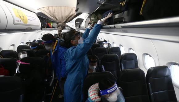 El cierre de fronteras que provocó el coronavirus le viene costando a las aerolíneas en todo el mundo alrededor de US$84 mil millones, según IATA. En el Perú, las pérdidas ya suman US$2 mil millones. (Foto: Jesús Saucedo/ GEC)