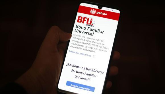 Segundo Bono Universal: consulta con DNI quién cobra el BFU hoy, jueves 5 de noviembre.