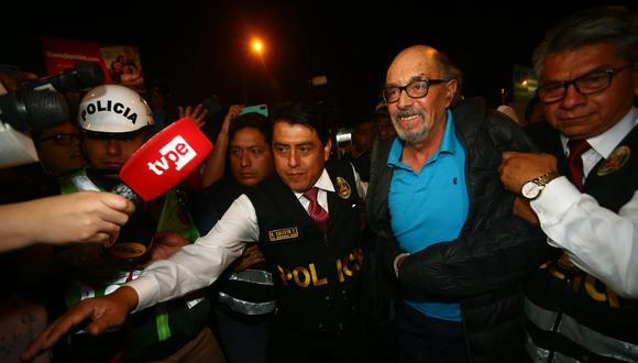 A fines de octubre del 2019, el excongresista Edwin Donayre fue capturado por la policía tras permanecer casi seis meses prófugo de la justicia. (Foto: GEC).