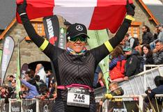 Peruana con récords de maratones participará en Mundial de Medio Ironman