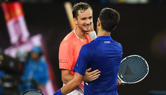 En octavos de final del Australian Open 2019, Novak Djokovic venció a Daniil Medvedev. (Foto: EFE)