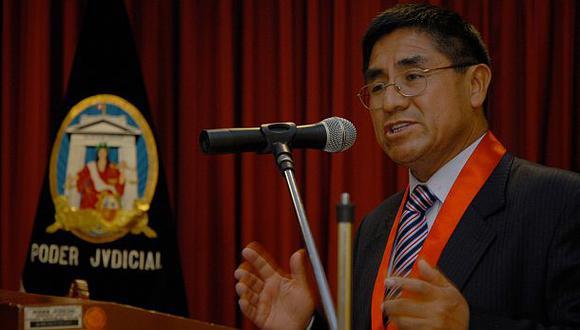 César Hinostroza se incorporó a la Corte Suprema de Justicia