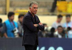 Perú vs. Colombia: Queiroz criticó los partidos consecutivos entre ambos equipos