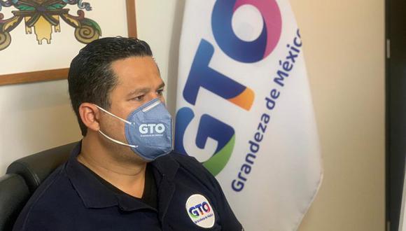 Diego Sinhue Rodríguez, político de 40 años de edad. (Foto: Twitter@diegosinhue)