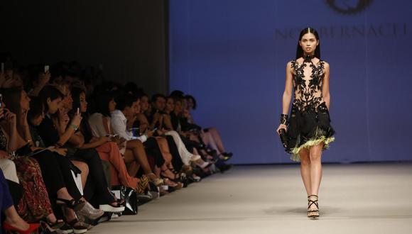 Noe Bernacelli ha participado en todas las ediciones de la Semana de la Moda de Lima desde sus inicios en el 2011, la cual se realizó del 27 al 30 de abril. (Foto: El Comercio).