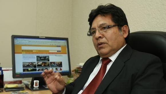 Denuncia contra Ramos no impediría que sea fiscal de la Nación