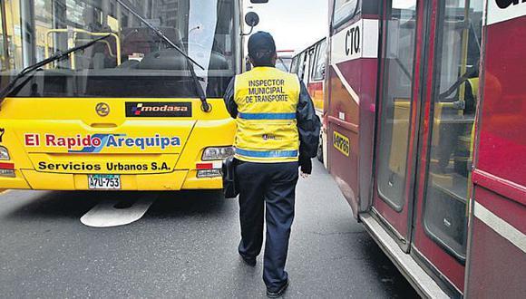 Corredor vial de Arequipa será fiscalizado por 300 inspectores