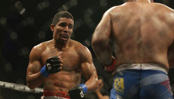 Gonzales podría asegurarse la oportunidad de disputar el título de Combate Américas. (Foto: Alonso Chero/El Comercio)